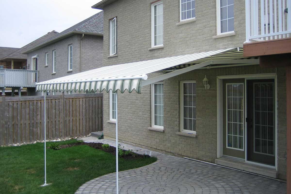 retractable patio awnings all spa hot tub ltd