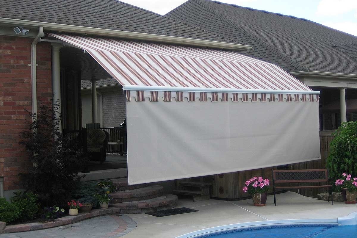 Retractable Patio Awnings All Spa Amp Hot Tub Ltd