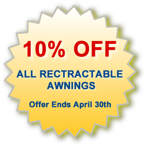 Retractable Patio Awnings - All Spa & Hot Tub Ltd.